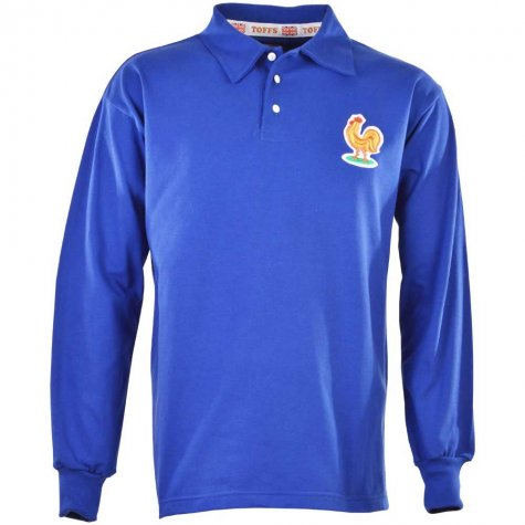 France 1958 World Cup Retro Football Shirt