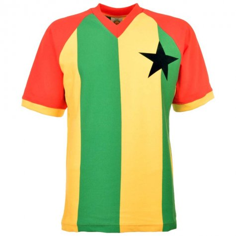 Ghana 1980s Retro Football Shirt