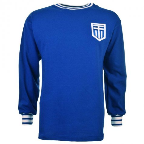 Greece 1960s Retro Football Shirt