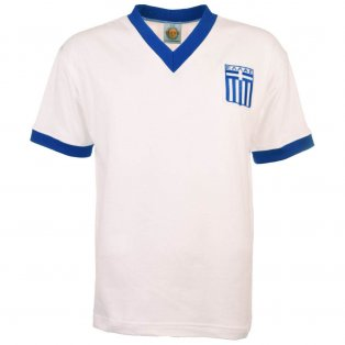 Greece 1980s Away Retro Football Shirt
