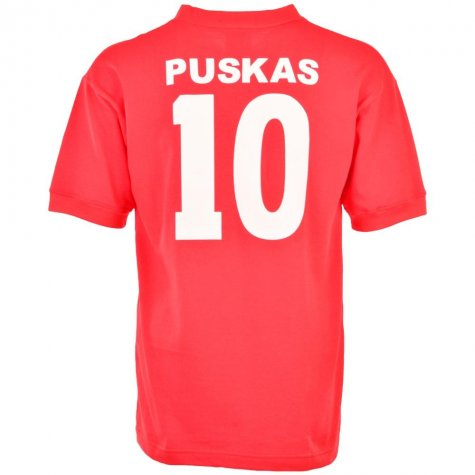 Hungary 1954 World Cup Final Puskas 10 Retro Football Shirt