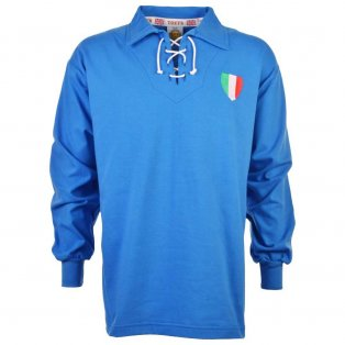 Italy 1940-1950s Retro Football Shirt