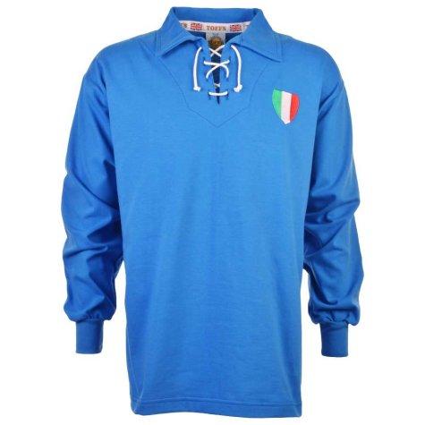 Italy 1940-1950s Retro Football Shirt