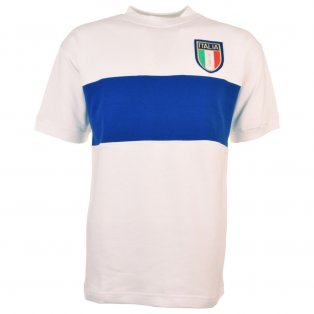 Italy 1954 Away Retro Football Shirt