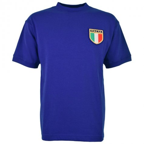 Italy 1970 World Cup Final Retro Football Shirt