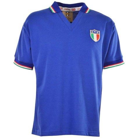 Italy 1983 Retro Football Shirt