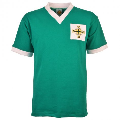 Northern Ireland 1958 World Cup Retro Football Shirt