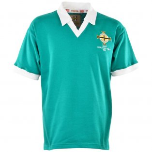 Northern Ireland 1982 World Cup Retro Football Shirt