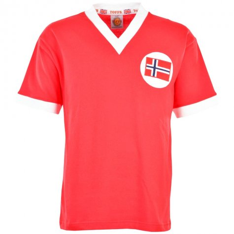 Norway 1960s Retro Football Shirt