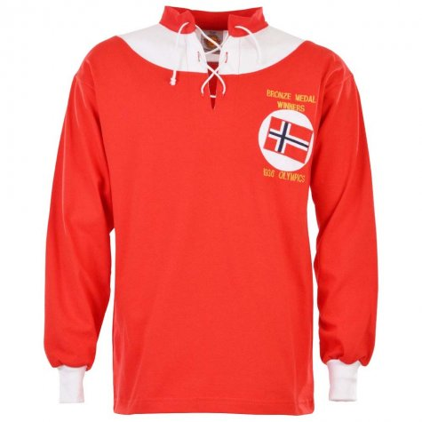 Norway 1936 Retro Football Shirt