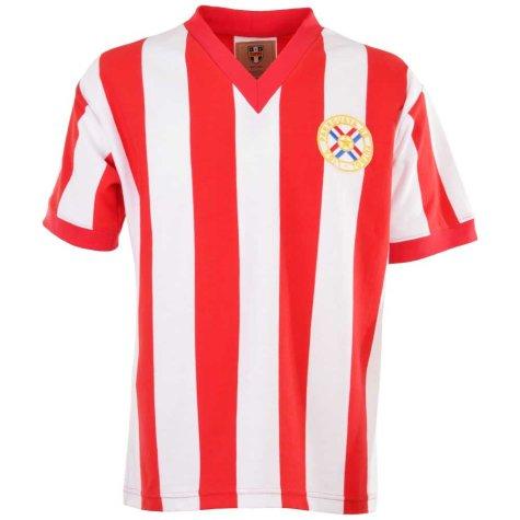Paraguay 1960s Retro Football Shirt