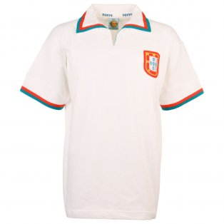 Portugal 1972 Away Retro Football Shirt