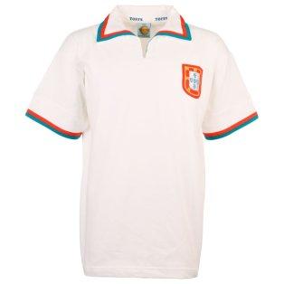 Portugal 1972 Away Retro Football Shirt