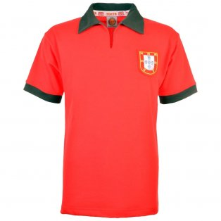 Portugal 1960s Retro Football Shirt