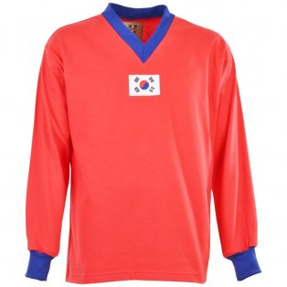 South Korea 1950s Retro Football Shirt
