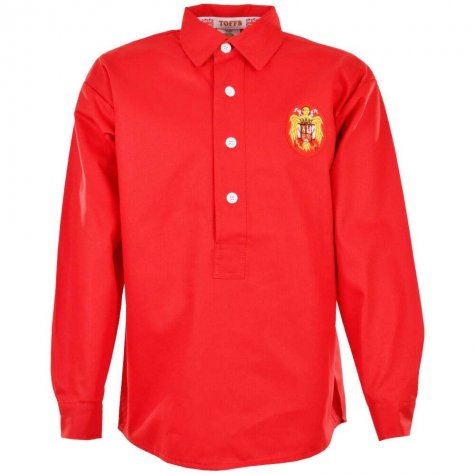 Spain 1950s World Cup Retro Football Shirt