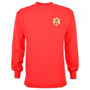 Spain 1960 Di Stefano Retro Football Shirt