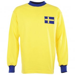 Sweden 1960s Retro Football Shirt