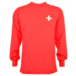 Switzerland 1960 Retro Football Shirt