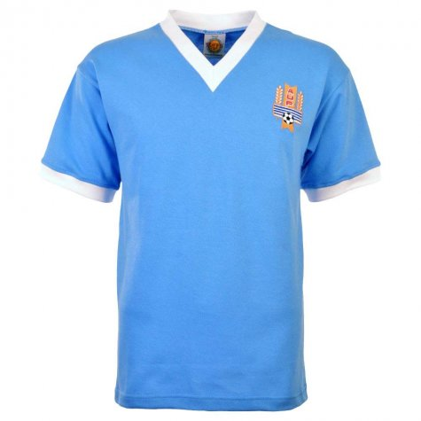 Uruguay 1950 World Cup Final Retro Football Shirt