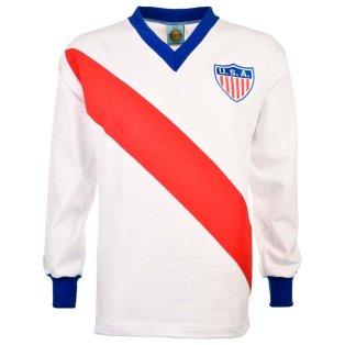 USA 1950 World Cup Retro Football Shirt