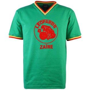 Zaire V-Neck 1974 World Cup Retro Football Shirt