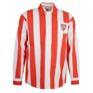 Derry 1950s Retro Football Shirt