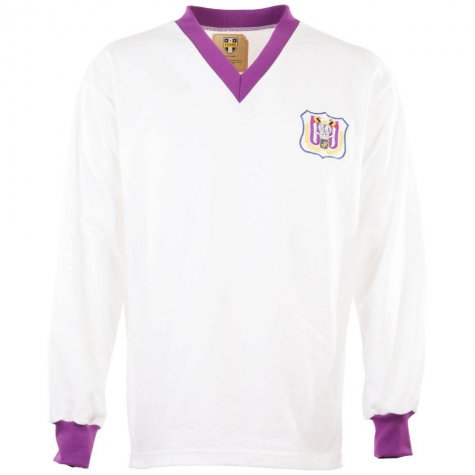 Anderlecht 1960s Retro Football Shirt