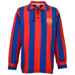 Barcelona 1950s Retro Football Shirt