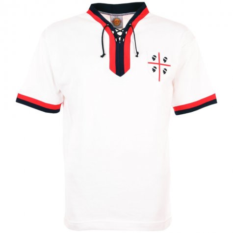 Cagliari 1970s Retro Football Shirt