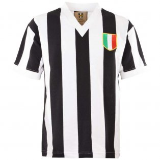 Juventus 1960 V Neck Retro Football Shirt