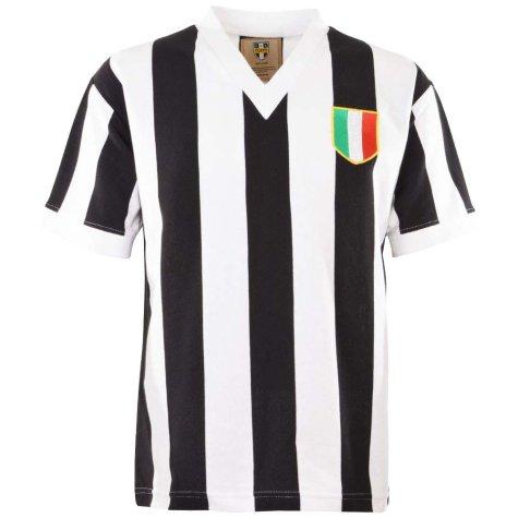 Juventus 1960 V Neck Retro Football Shirt