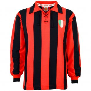 A C Milan 1950s Retro Football Shirt