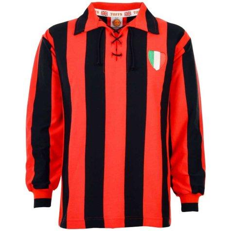 A C Milan 1950s Retro Football Shirt