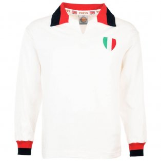 AC Milan 1963 European Cup Final Retro Football Shirt