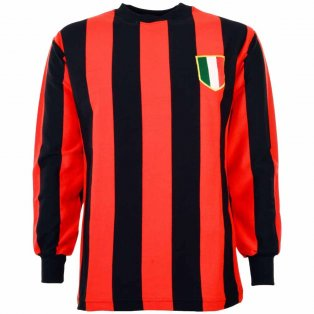 A C Milan 1950-1960s Retro Football Shirt