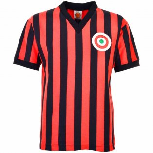 AC Milan 1967-1968 Retro Football Shirt