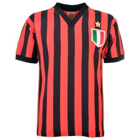 A C Milan 1979-1980 Retro Football Shirt