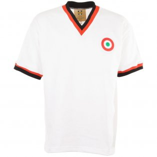 AC Milan 1977 Coppa Italia Retro Football Shirt