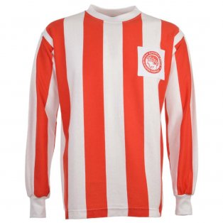 Olympiakos 1970s Retro Football Shirt