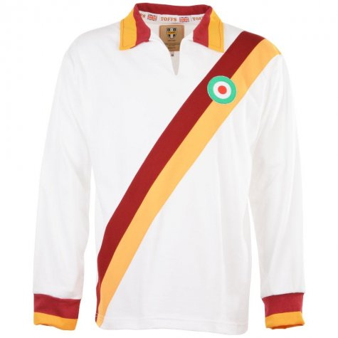 Roma 1966 Copa Italia Retro Football Shirt