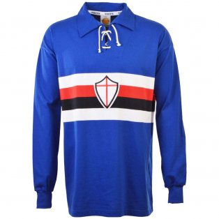 Sampdoria 1950s Retro Football Shirt