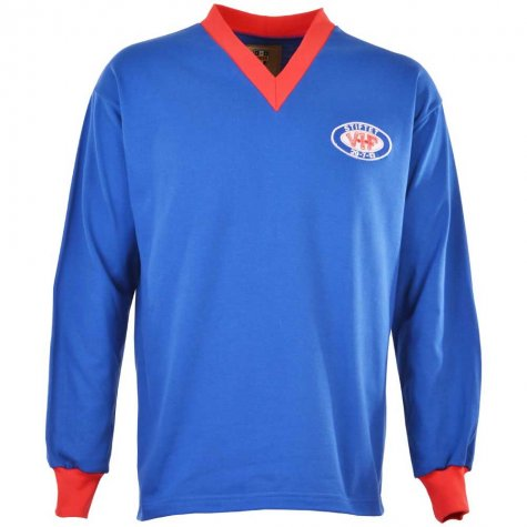 Valerengen 1970s Retro Football Shirt