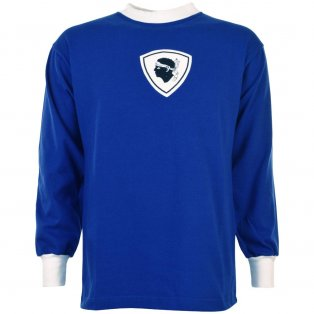 Bastia 1970s Retro Football Shirt