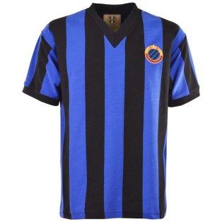 Brugge 1960s Retro Football Shirt
