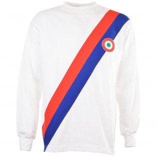 Bologna Copa Italia Winners 1970 Retro Football Shirt