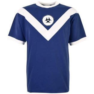 Bordeaux 1960s Retro Football Shirt