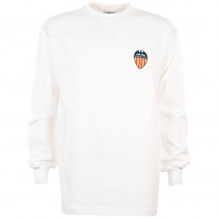 Valencia 1960s Retro Football Shirt