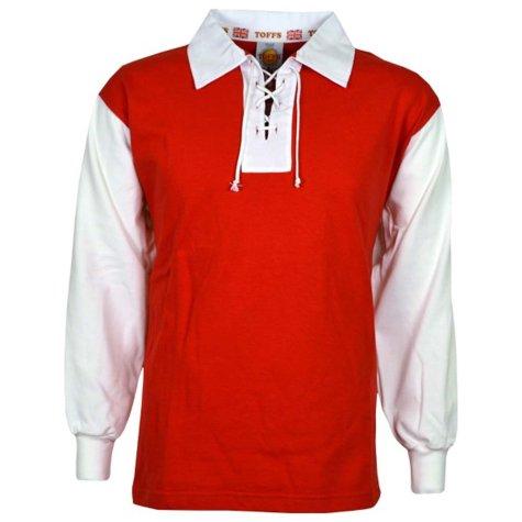 Reims 1950s Retro Football Shirt