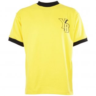 BSC Young Boys 1959 European Cup Semi-Final Retro Football Shirt